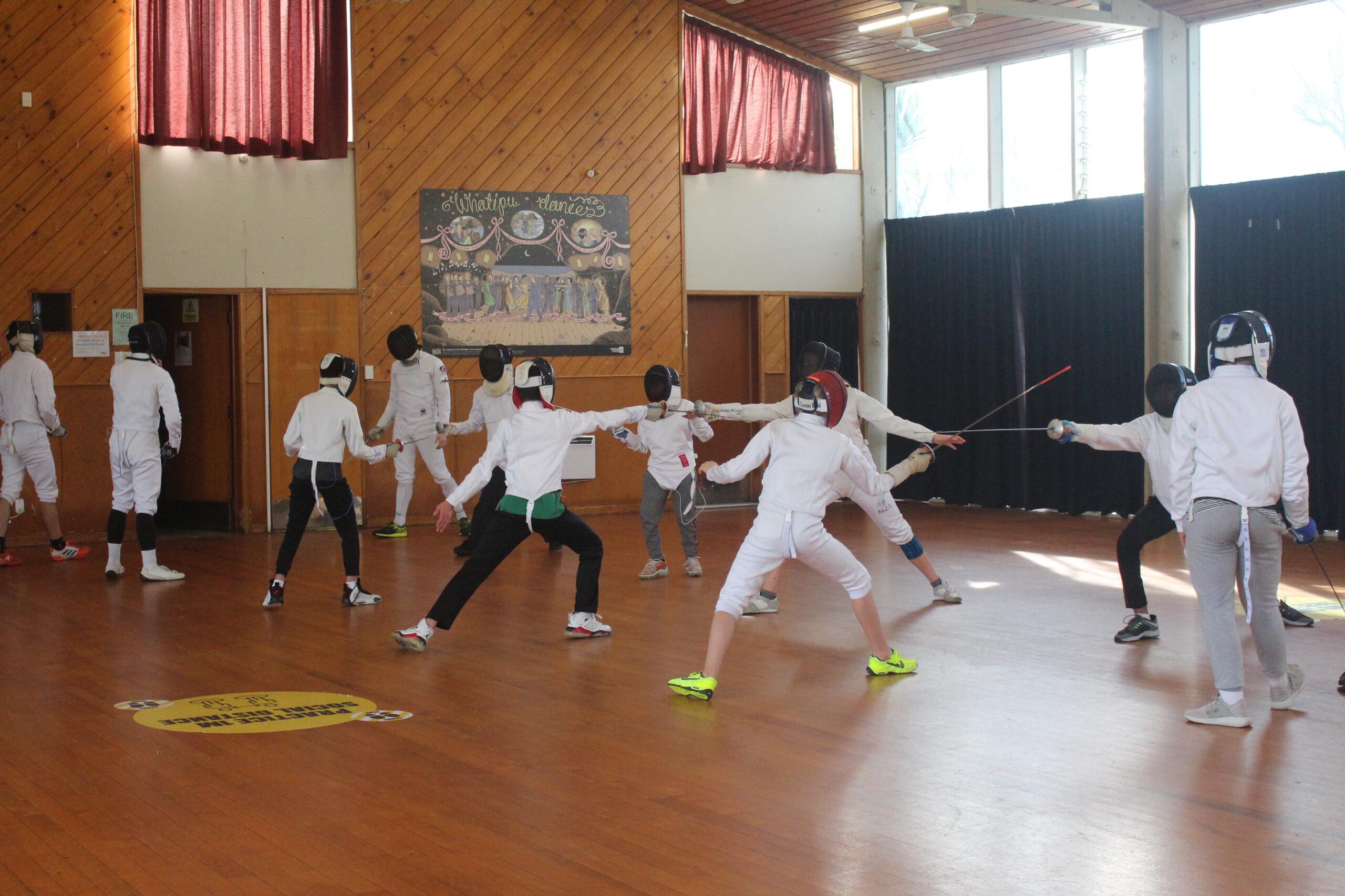 Fencing camp